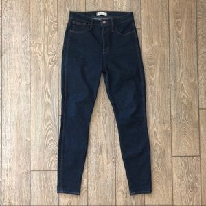 """Madewell Jeans - madewell 10"""" High-Rise Skinny Jeans - Lucille Wash"""
